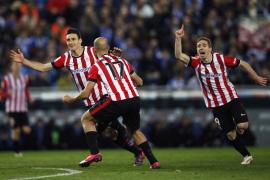El Athletic remonta y alcanza la final de Copa
