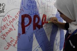 Este domingo se cumple un año desde la desaparición del avión malasio con 239 personas