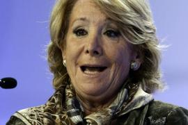 El PP dice que Aguirre pactó dejar la presidencia del partido si es alcaldesa