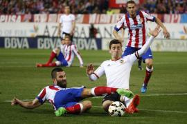 Empate insuficiente entre Atlético y Valencia