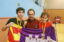 Hugo y Desiree revalidan el título nacional en Madrid