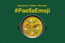 Buscan apoyo masivo en Twitter para que la paella tenga su emoticono