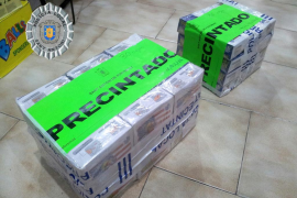 Confiscados 4.600 petardos de tres bazares que no tenían autorizada su venta