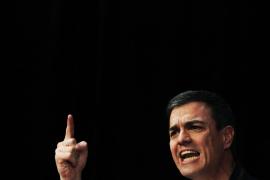 Sánchez: «Frente a IU o Podemos, el PSOE siempre ha estado al lado de la libertad»