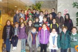 Alumnes de 3er i 4rt del Col·legi Sant Salvador visitaren Grup Serra i Endesa
