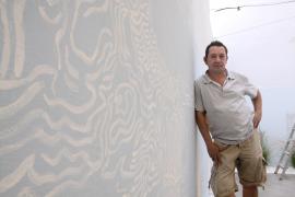 'AFC Mintxo' realiza en Vila un proyecto «como un homenaje al paisaje de la isla»