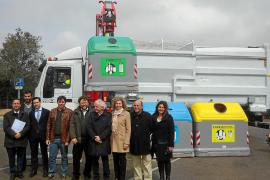 'Lavado' de cara, recogida selectiva de residuos y sostenibilidad en Sant Josep