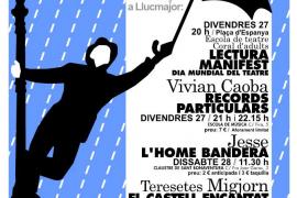 Llucmajor celebra con actividades el Día Mundial del Teatre
