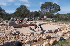Restaurado el yacimiento arqueológico del Cap de Barbaria II