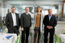 Sant Llorenç estrena un aula de formación profesional de restauración