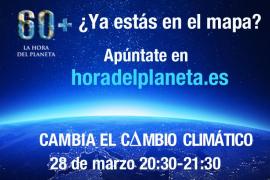Vila se suma este sábado a La Hora del Planeta