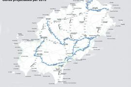 El Consell prevé iniciar las obras de la carretera de Santa Eulària a finales de año