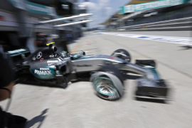 Rosberg, el mejor en el último libre de Sepang; Sainz, octavo y Alonso, 15