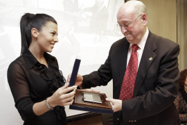 Santa Eulària concede su medalla de oro al expresidente de Fomento José Tur Olmo