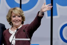Aguirre: «El PP está abierto a todos, menos a los que van contra el sistema»
