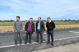 Las mejoras en la carretera de Es Cap aumentan la seguridad y eliminan 73 postes