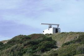 Un radar móvil del SIVE controla la posible llegada de 'narcos' y pateras