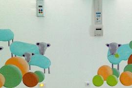 Pediatría se llena de frescos