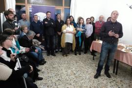 Juanjo Ferrer presenta su candidatura del PI a la alcaldía de Sant Antoni