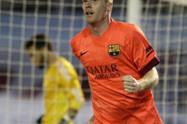 Mathieu salva al Barça, que sufre en Balaídos pero conserva su ventaja sobre Madrid