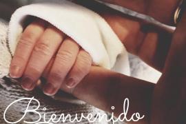 Macarena Gómez da a luz a su primer hijo