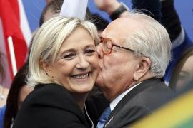 Marine Le Pen rompe con su padre