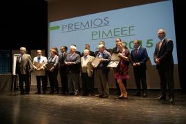 PIMEEF galardona a seis destacados empresarios de Eivissa y Formentera