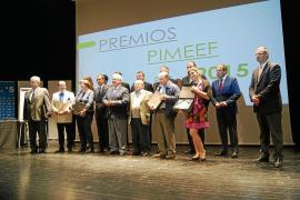 VÍDEO: La Pimeef reconoce el esfuerzo y  la trayectoria de seis empresas pitiusas
