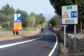 Pavimentación Algaida-Sencelles