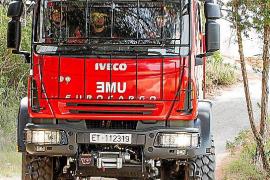 Gran despliegue contra incendios en Sant Llorenç