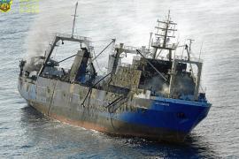 Russisches Fischerei-Schiff vor Gran Canaria gesunken