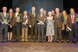 El Consell d'Eivissa premia las trayectorias de José Colomar, Ginés Egea y Rolph K. Blackstad