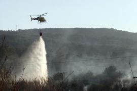 Casi toda la superficie forestal de Eivissa es declarada de alto riesgo de incendios