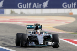 Hamilton saldrá primero en Baréin