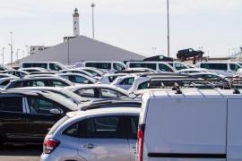 La flota de coches de alquiler crecerá entre un 5% y 10% esta temporada en las Pitiüses