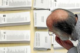 El descenso en el número de candidaturas complica la obtención de mayorías