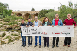 El traspaso de la gestión del agua será una de las prioridades del PSOE