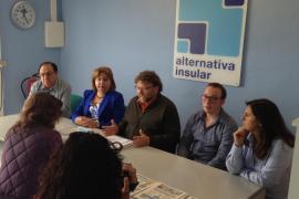 Alternativa Insular se presenta como la única solución al problema del agua en Sant Josep