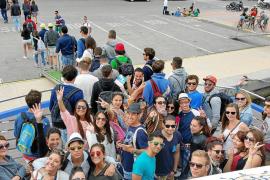 Más de 2.000 estudiantes de Erasmus recalan en Eivissa para el puente de mayo
