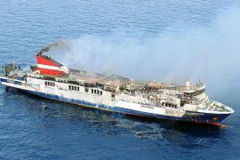 "Fährschiff ""Sorrento"" vor Mallorca in Brand geraten"
