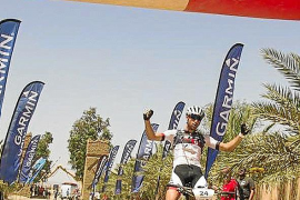 Morcillo manda en la quinta etapa y se coloca tercero