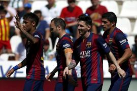 El Barcelona se pasea en El Arcángel y manda al Córdoba a Segunda