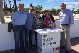 """El PSOE critica que Santa Eulària prohíba la instalación de un 'Speakers Corner"""" el primer Domingo de Mayo"""
