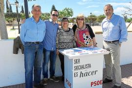 El PSOE se instala en la Fira de Maig de Santa Eulària entre las críticas del PP