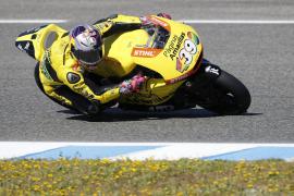 Luis Salom, séptimo en la victoria de Jonas Folger en Jerez