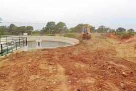 Medi Ambient inicia las obras para reformar la depuradora de Cala Tarida