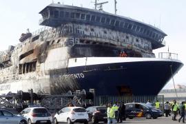 El buque 'Sorrento' arriba al puerto de Sagunto antes de lo previsto