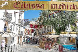 Últimos retoques para la feria Eivissa Medieval
