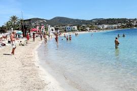 Eivissa  vive un inicio de mayo con temperaturas medias de 5 grados por encima de lo habitual