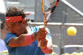 Nadal supera a Dimitrov y se planta en semifinales